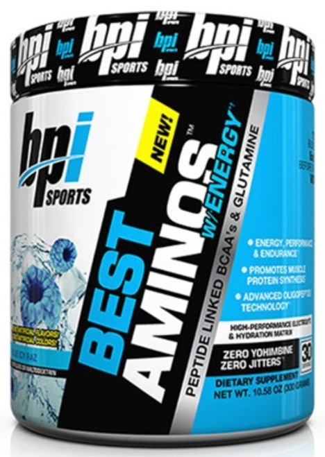 BPI Sports BEST Aminos Energy 300 G (30 Servings)