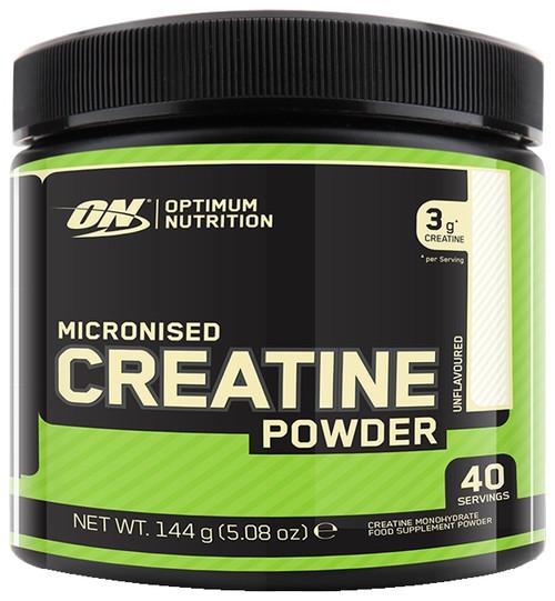 Optimum Nutrition Micronized Creatine Powder 144 G (40 Servings)