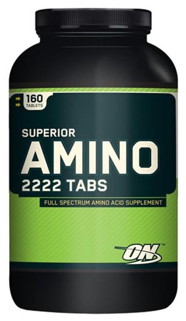 Optimum Nutrition Superior Amino 2222 Tabs 160 Tablets