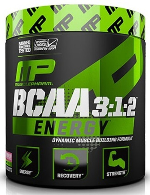 MusclePharm BCAA 3:1:2 Energy 30 Servings