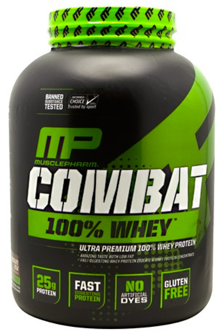 MusclePharm Combat 100% Whey 2269 G (5 LB)
