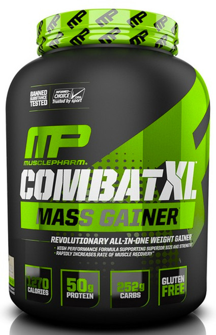 MusclePharm Combat XL Mass Gainer 2722 G (5 LB)