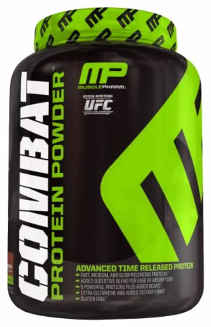 MusclePharm Combat Protein Powder 1.8 KG (4 LB)