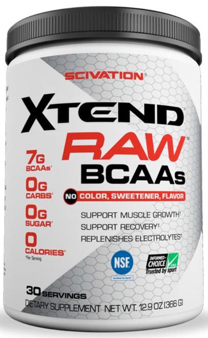 Scivation Xtend Raw BCAAs 30 Servings