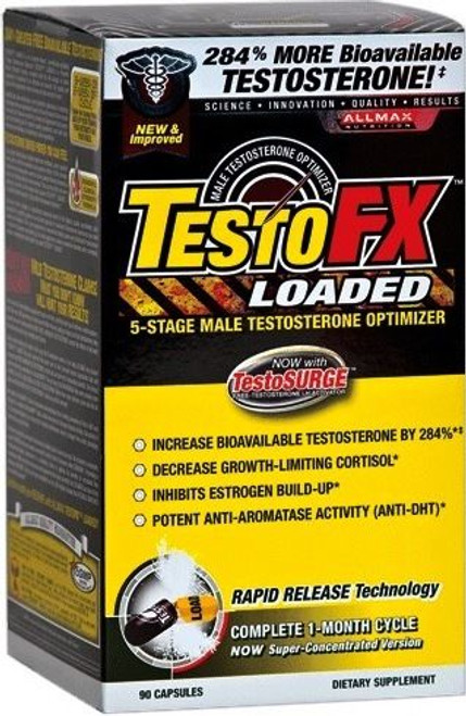 AllMax TestoFX Loaded 90 Capsules