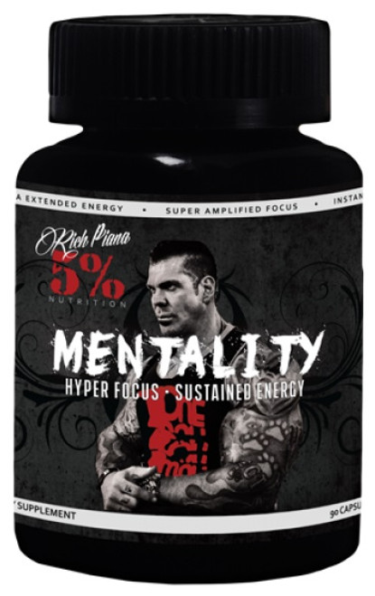 Rich Piana 5% Mentality 90 Capsules