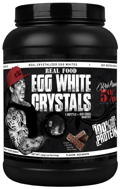Rich Piana 5% Real Food Egg White Crystals 30 Servings