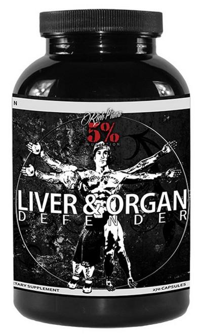 Rich Piana 5% Liver & Organ Defender 270 Capsules
