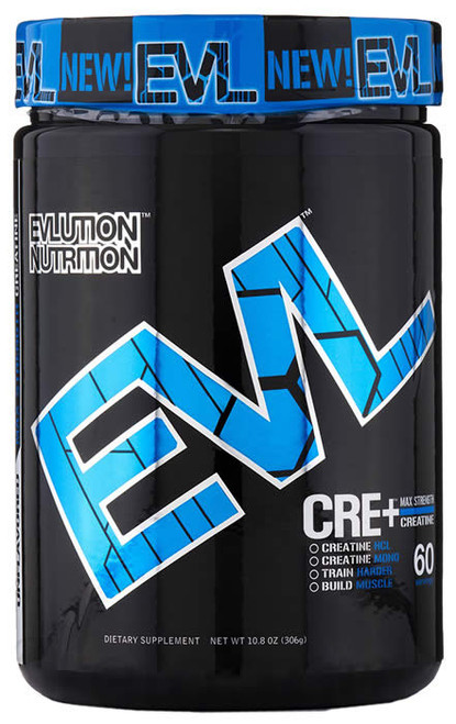 Evlution Nutrition CRE+ 306 G (60 Servings)
