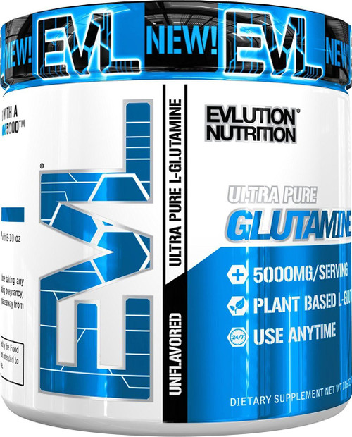 Evlution Nutrition Glutamine 5000 (60 Servings)