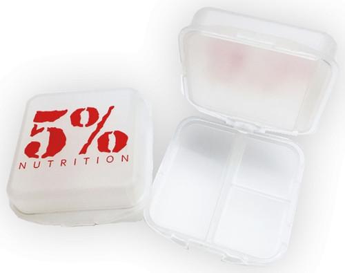 Rich Piana 5% Pill Box - Clear/Red