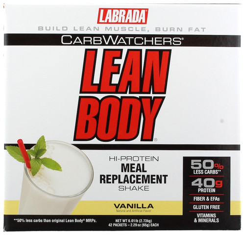 Labrada Carb Watchers Lean Body x 42 Sachets Pack