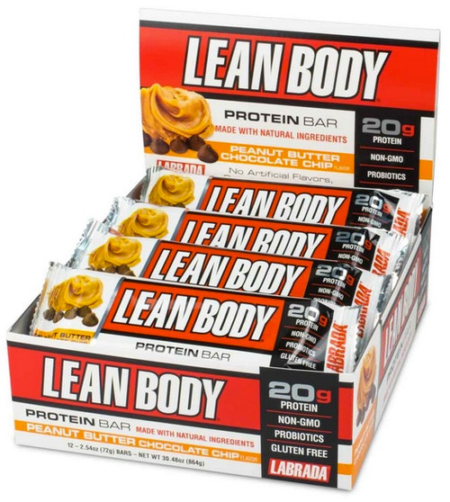 Labrada Lean Body Protein Bar x 12 Bars Pack