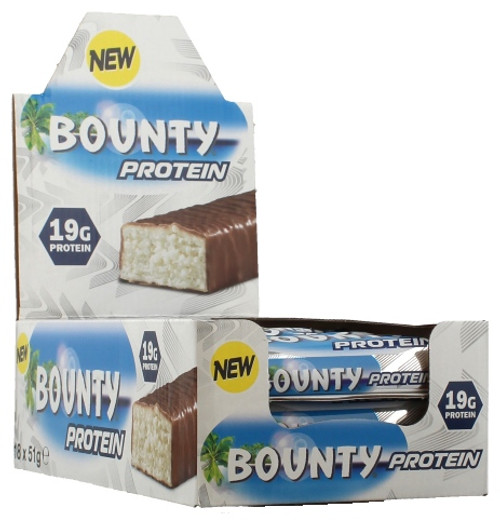 Bounty Protein Bar 51 G x  18 Bars Pack