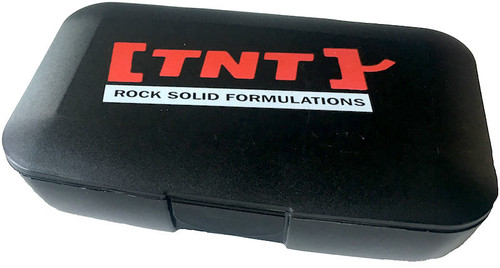 TNT Pill Box Black
