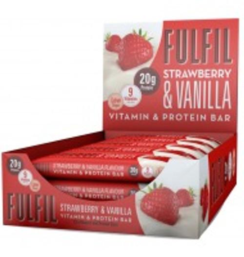 Fulfil Vitamin & Protein Bar 60 G x 15 Bars Pack