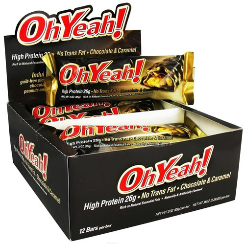 Oh Yeah! 85 G x 12 Bars Pack