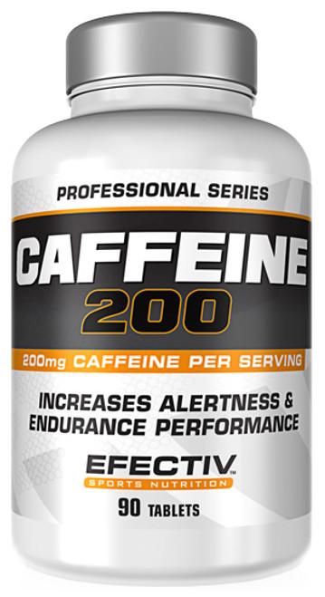 Efectiv Caffeine 200 - 90 Tablets