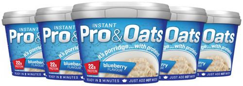 Efectiv Instant Pro & Oats 60 G x 12 Pots Pack