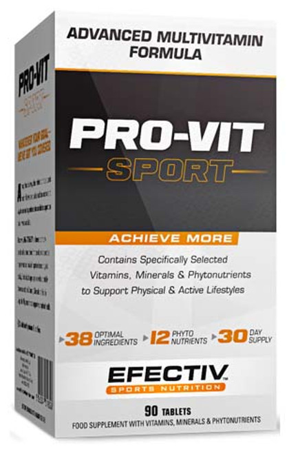 Efectiv Pro-Vit Sport Multivitamins 90 Tablets