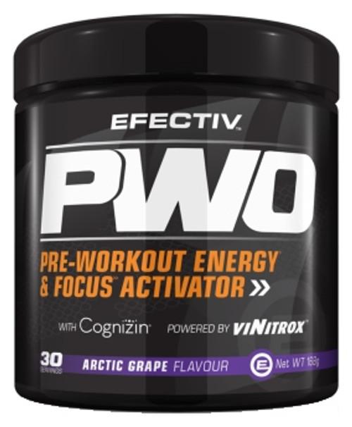 Efectiv PWO Pre-Workout 168 G ( 30 Servings)