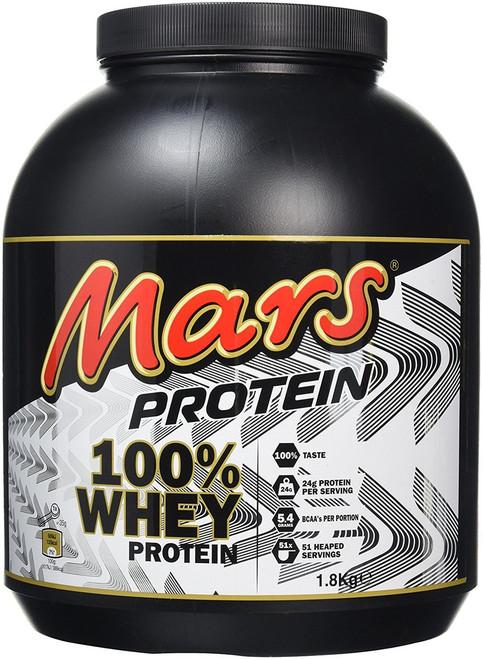 EXTRA £10 OFF - Mars 100% Whey Protein Powder 1.8 KG