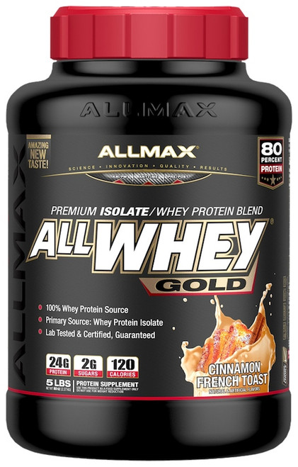 AllMax AllWhey GOLD 2.27 KG (5 LB)