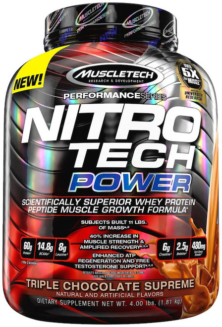 Muscletech NITRO TECH Power 1.81 KG (4 LB)