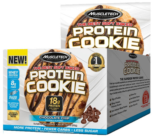 MuscleTech Protein Cookie 92 G x 6 Pack