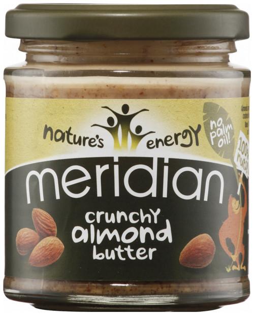 Meridian Crunchy Almond Butter 170 G