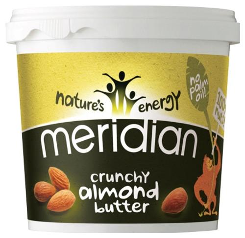 Meridian Crunchy Almond Butter 1 KG