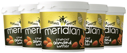 Meridian Crunchy Almond Butter 1 KG x 6 Pack