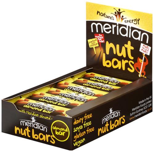 Meridian Almond Bar x 18 Pack