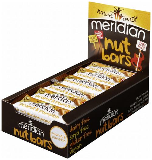 Meridian Peanut & Pumpkin Bar x 18 Pack
