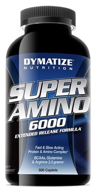 Dymatize Super Amino 6000 500 Caplets