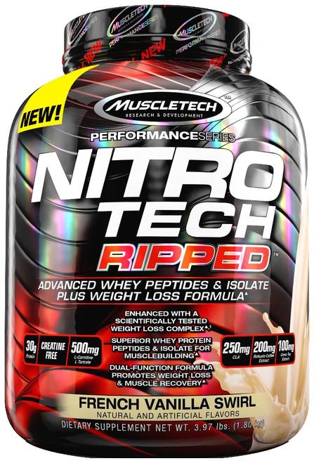 Muscletech NITRO TECH Ripped 1.8 KG (4 LB)