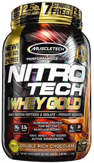 51d53ed57 Muscletech NITRO TECH 100% Whey Gold 1.1 KG (2.5 LB) - MusclePetrol.com