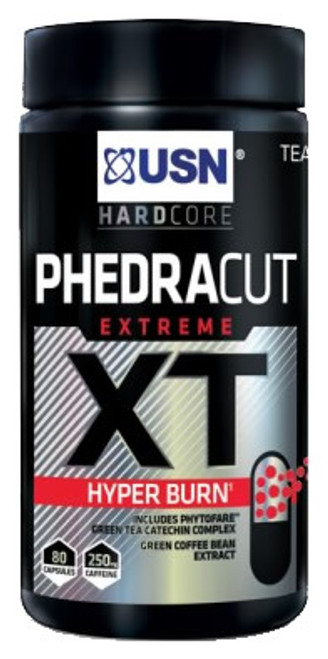 USN PhedraCut Extreme XT Hyper Burn 80 Capsules