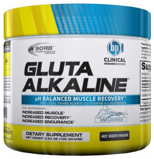BPI Sports Gluta Alkaline 100 G (40 Servings)