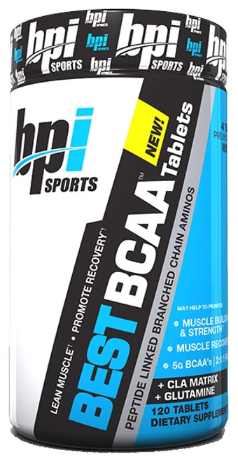 BPI Sports BEST BCAA Tablets 120 Tablets
