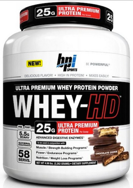 BPI Sports Whey-HD 4.5 LB (58 Servings)