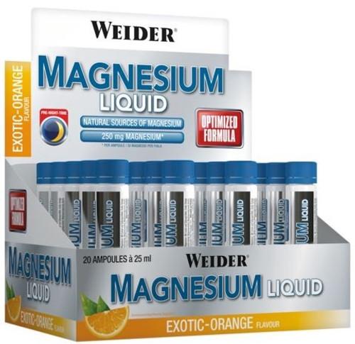 Weider Magnesium Liquid 25 ML x 20 Pack