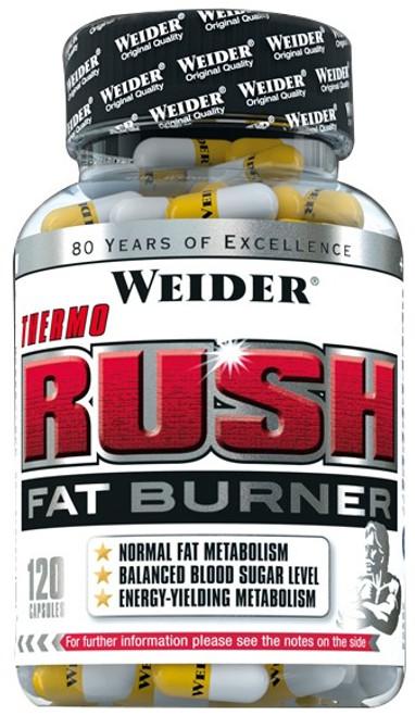 Weider Thermo Rush Fat Burner 120 Capsules