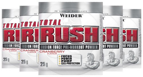 Weider Total Rush 25 G x 20 Sachets Pack