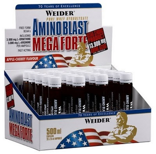 Weider Amino Blast Mega Forte 25 ML x 20 Ampoules Pack