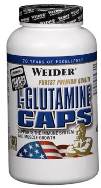 Weider L-Glutamine Caps 160 Capsules