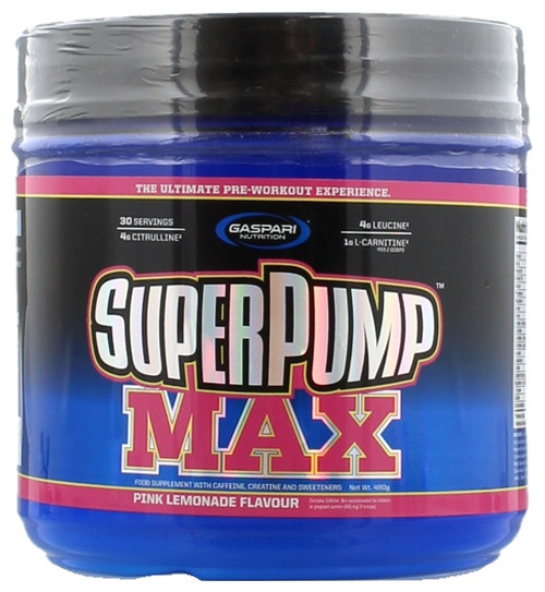 Gaspari Nutrition SUPERPUMP MAX 30 Servings