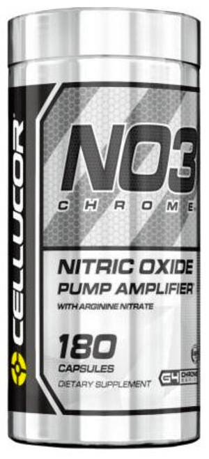 Cellucor NO3 Chrome Nitro Oxide 180 Capsules