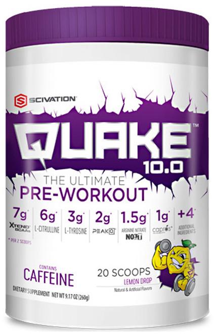 Scivation Quake 10.0 Pre Workout 260 G