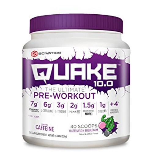 Scivation Quake 10.0 Pre Workout 520 G